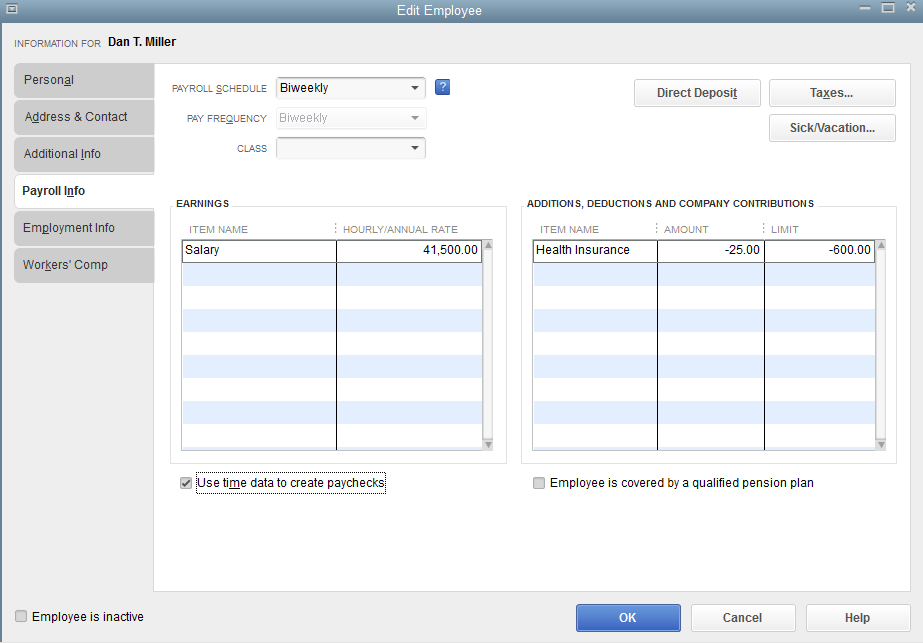 how to delete expenses from quickbooks